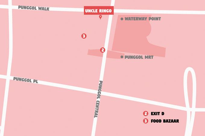 uncle ringo punggol map