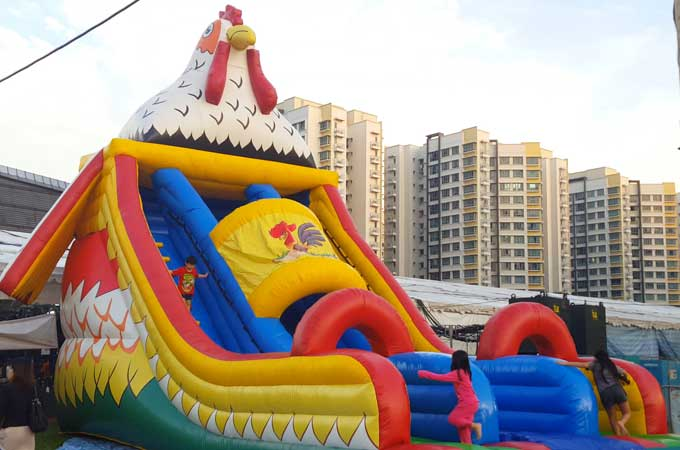 uncle ringo rooster slide