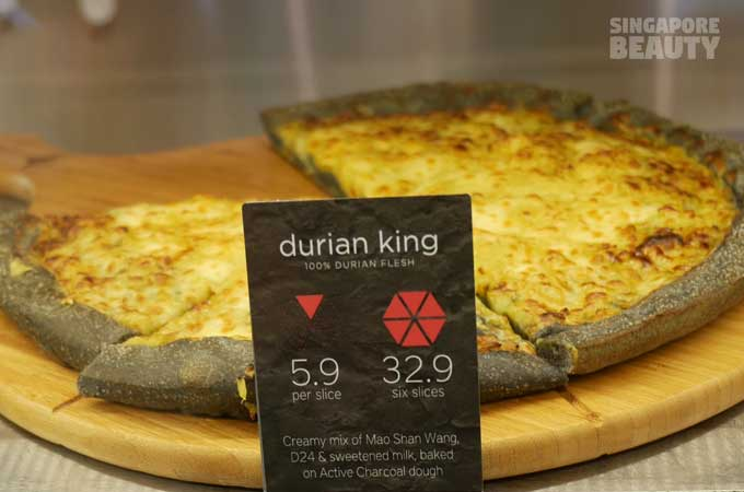 durian pizza price