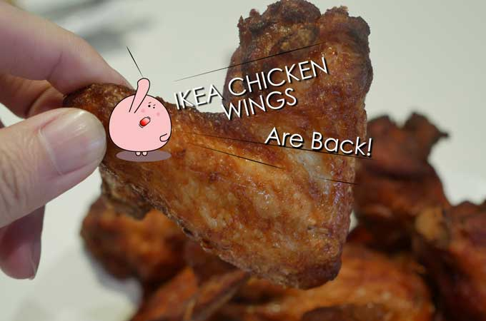 Ikea Chicken Wings Are Back in Singapore