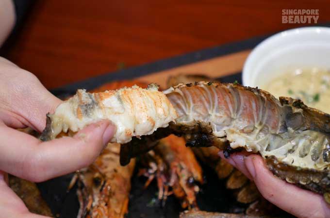 lobster-flesh