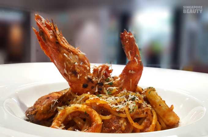 the corner chef seafood pasta