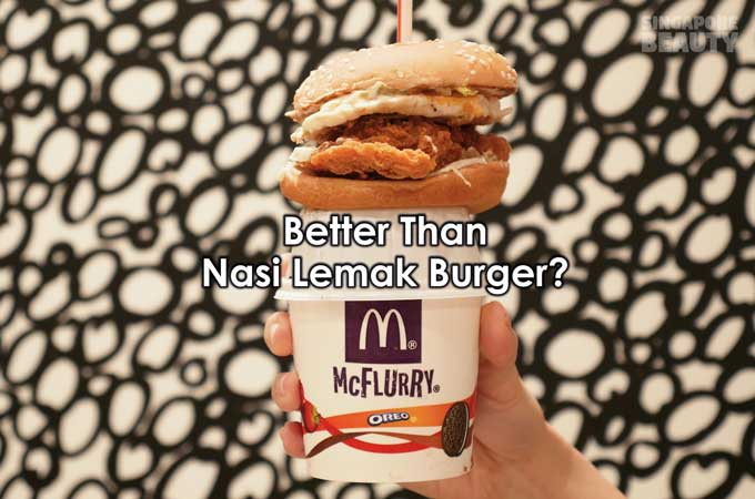 McDonald's Eggcellent McSpicy & Dinosaur McFlurry