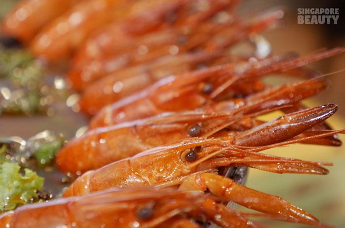 lobster-having-sauna
