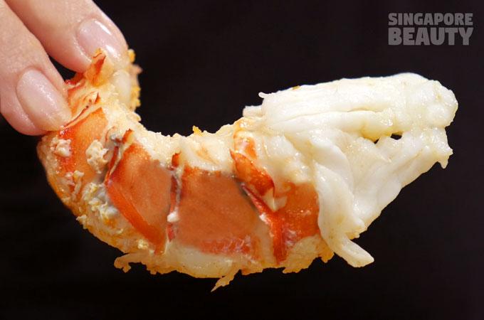 jiu gong ge-lobster-meat