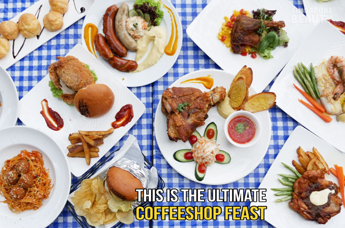 Salute Coffeeshop Family Set and Lunch Set