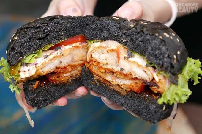 burger-monster-shark-burger-with-charcoal-buns