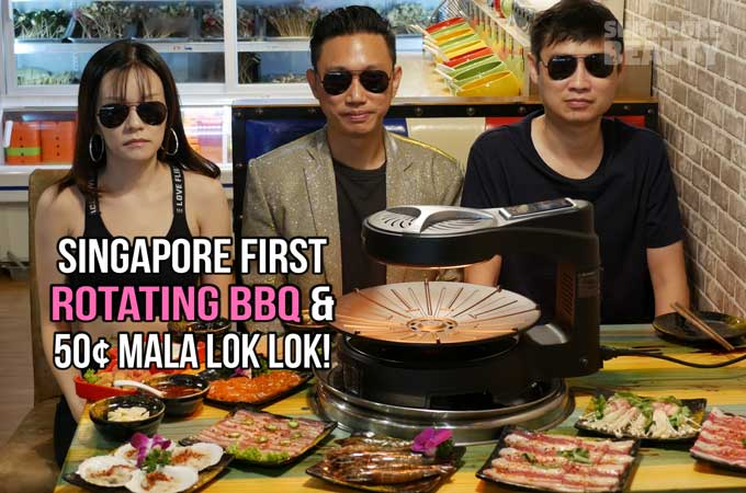 Jiu Gong Ge 九宫格火锅 – Rotating BBQ Buffet and 50cents Lok Lok