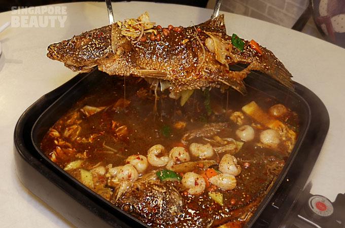 jiugongge-roast-fish