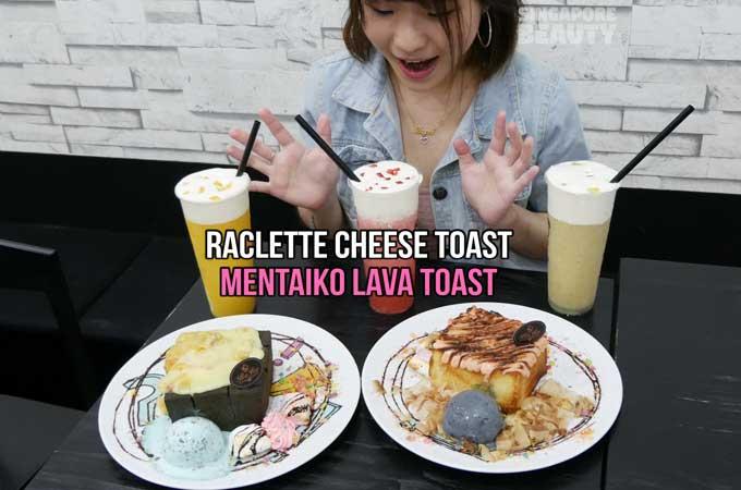 BoJio Cafe – Raclette Cheese Mentaiko Lava Toast