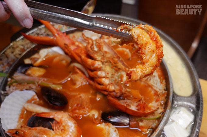 Chicken Up Ufo Seafood Stew