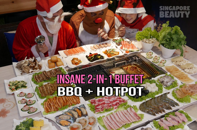 DM Chicken 分米鸡 – 2in1 BBQ & Hotpot Buffet