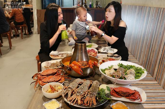new thai tanic buffet