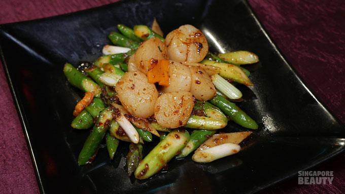 scallop asparagus