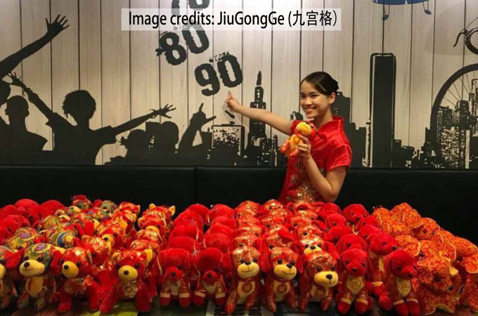 chinese new year dogs