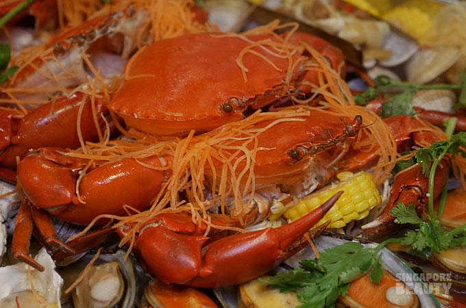 jiu gong ge crab claw