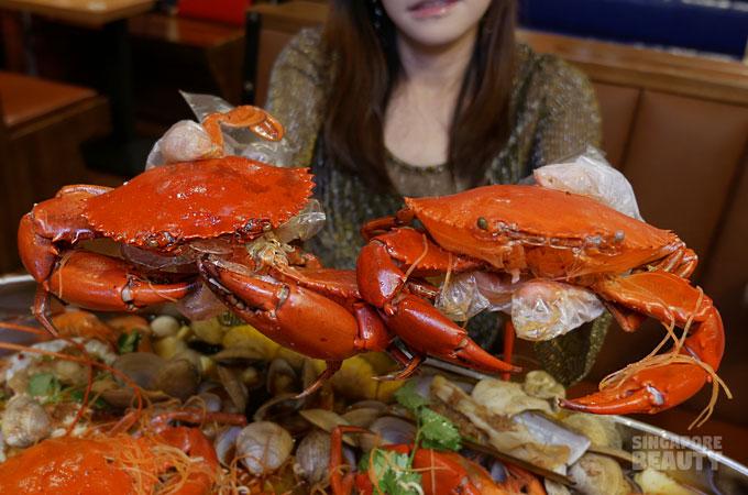 jiu gong ge crab