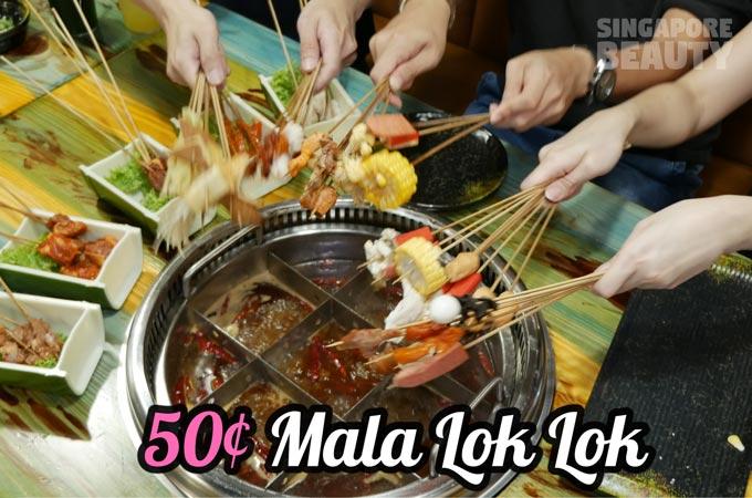 Jiu Gong Ge 50 cents Lok Lok