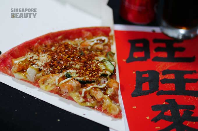 teriyaki salmon pezzo pizza
