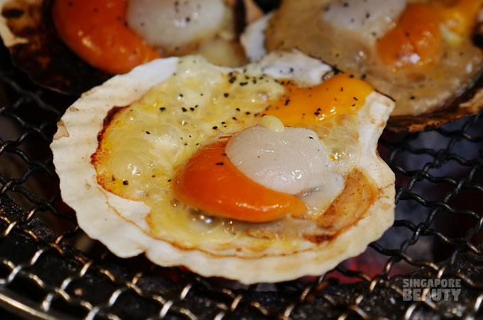 cheese scallop