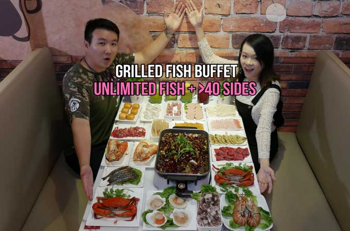 Grilled Fish Buffet