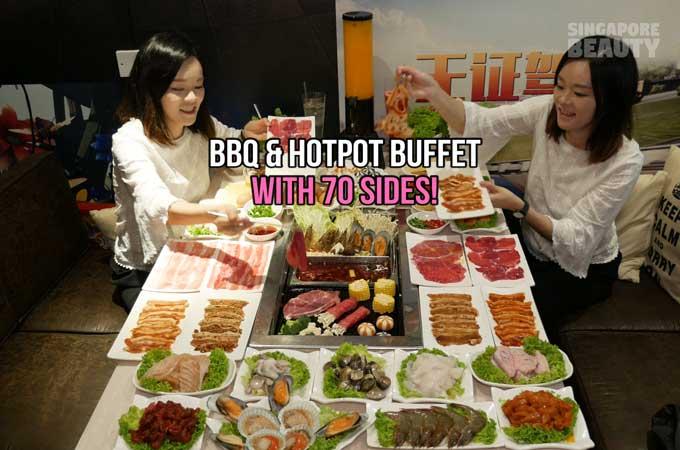 Dm Chicken BBQ and Hotpot Buffet