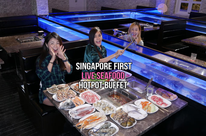 New Thai Tanic Live Seafood Hotpot Buffet