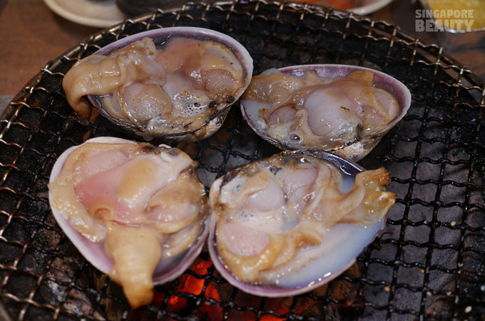 new thai tanic honey clams