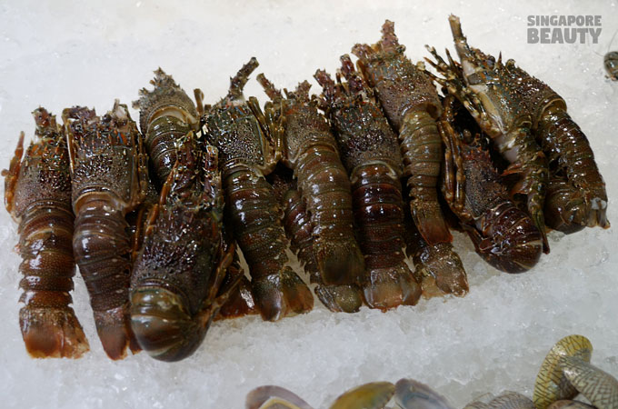 new thai tanic baby lobster