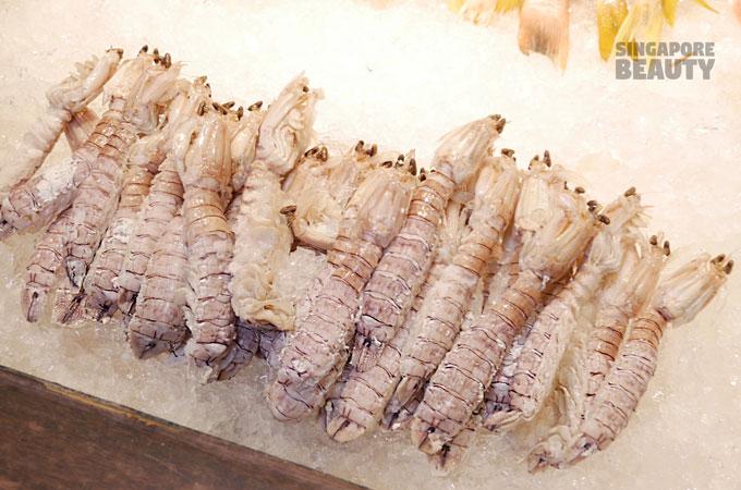 mantis prawns buffet