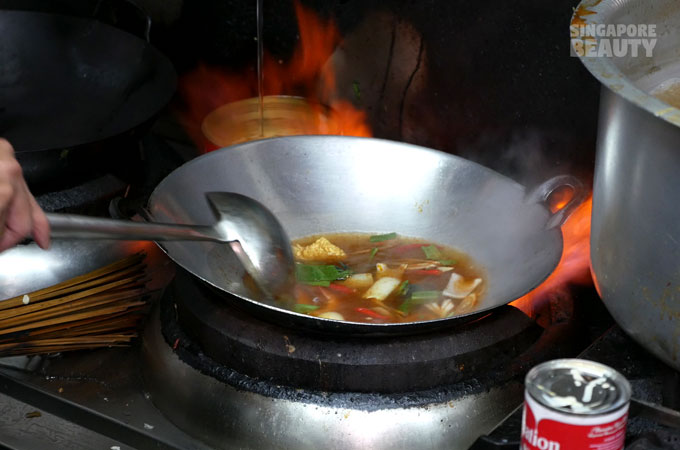 Tom yum personal size