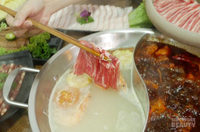 marbled pork