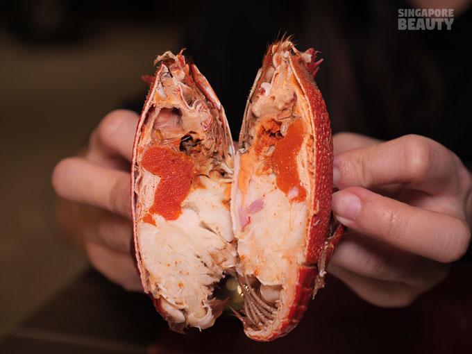 spanner crab roe