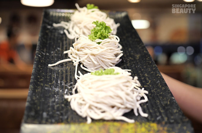 handmade noodle