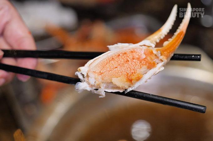 snow crab claw