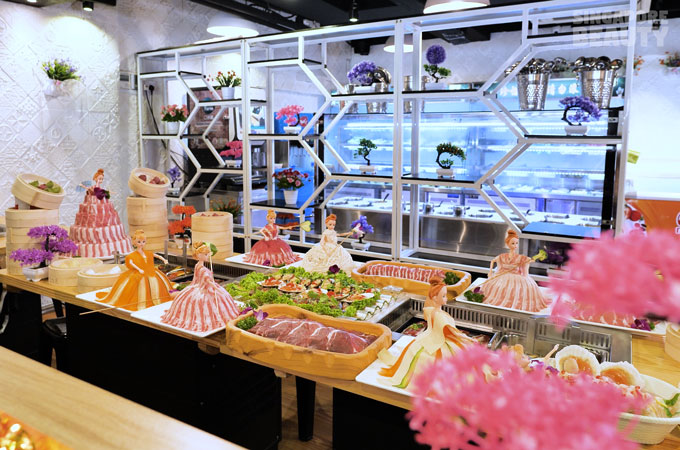 hot pot and bbq buffet