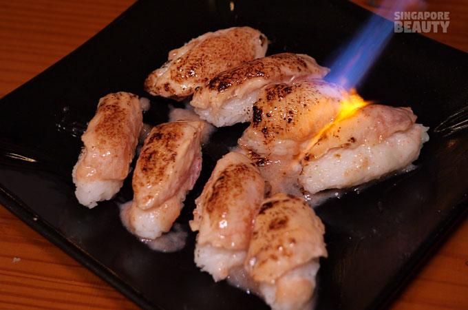 mentaiko-sushi