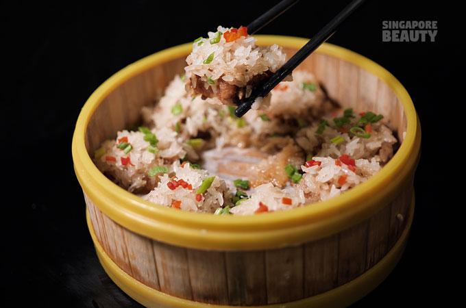 steamed pork ribs rice