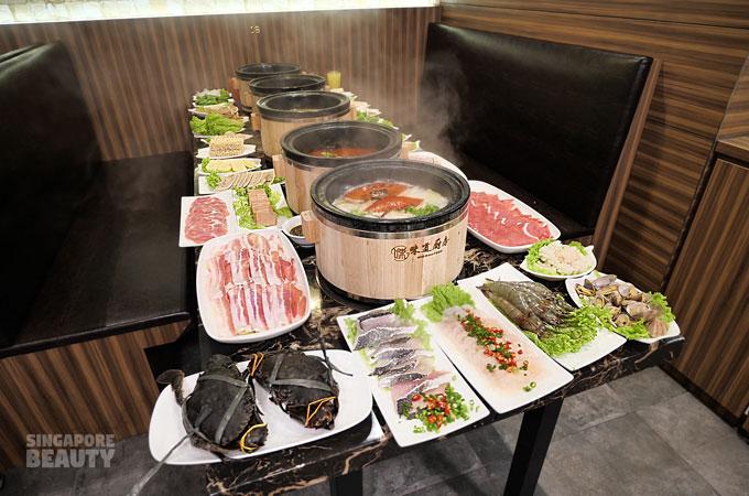 wei dao food sauna stone fish buffet
