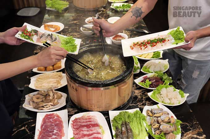 wei dao food buffet
