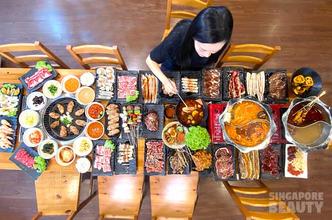 yi zi wei BBQ and steamboat buffet