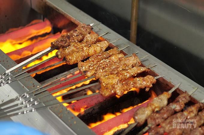 bbq meat skewers