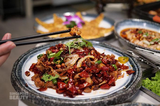 Sichuan dried chilli chicken