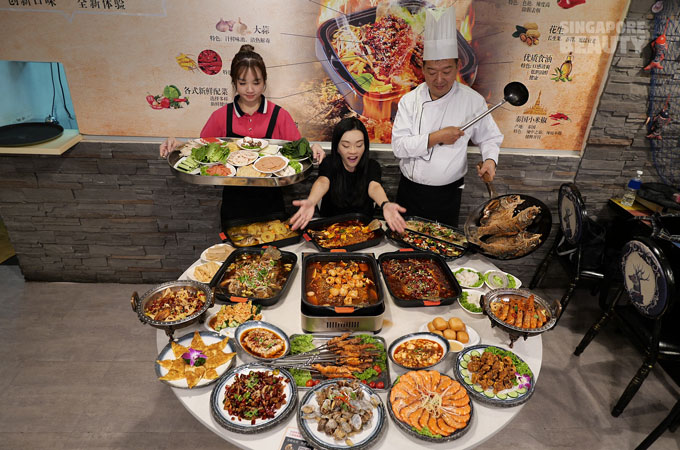 grilled fish buffet zi char buffet