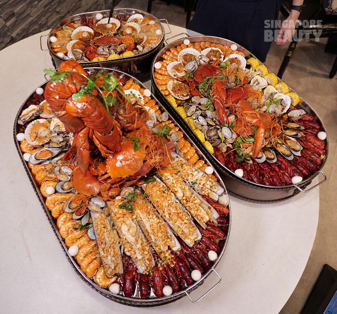 jiu gong ge seafood platter