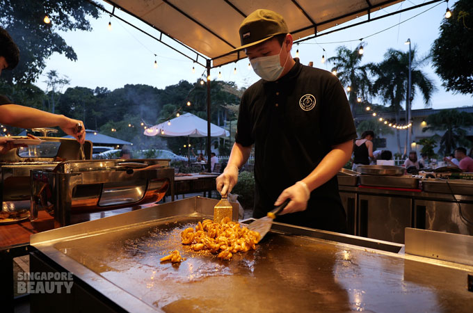 teppanyaki butler service