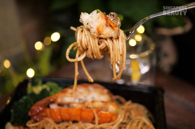 boston lobster tail pasta