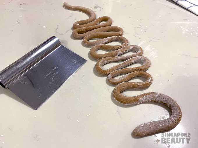 boba snake dough