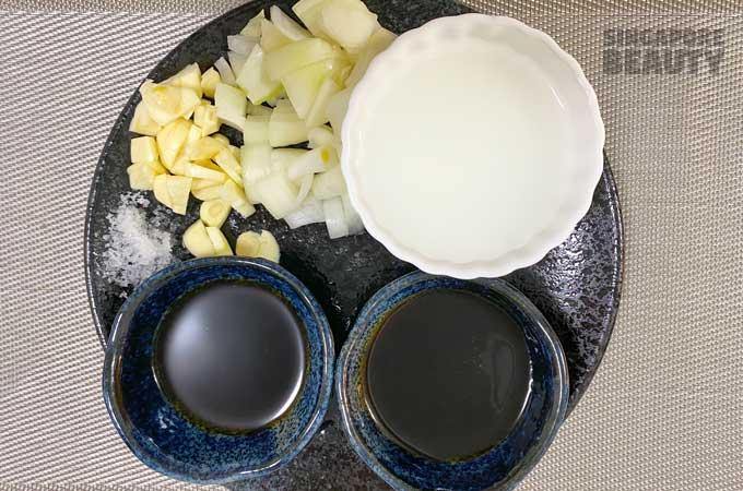 ingredients-for-garlic-sauce