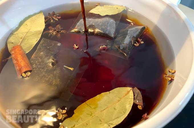 ingredients for tea egg